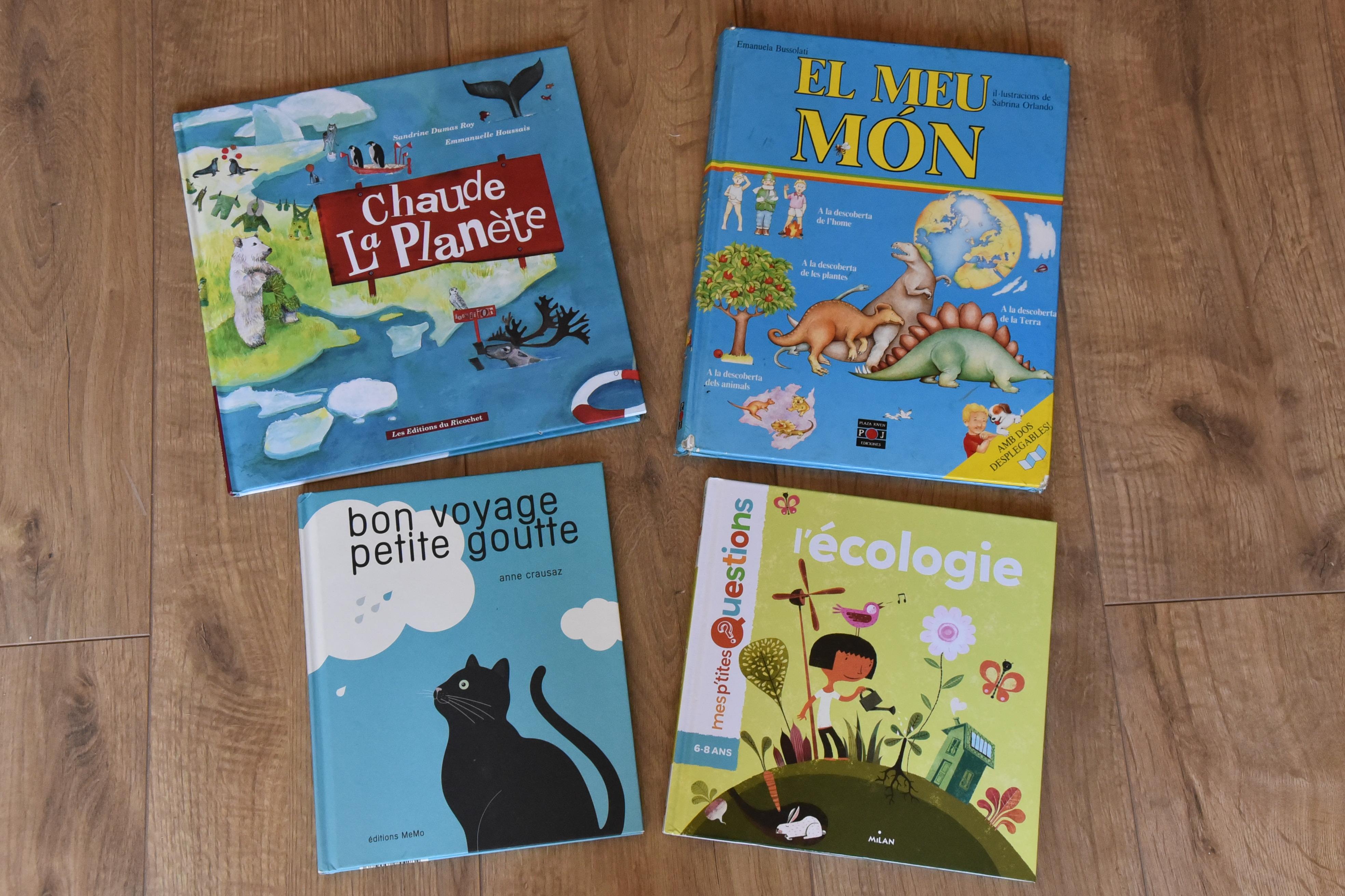 Livres thème planète