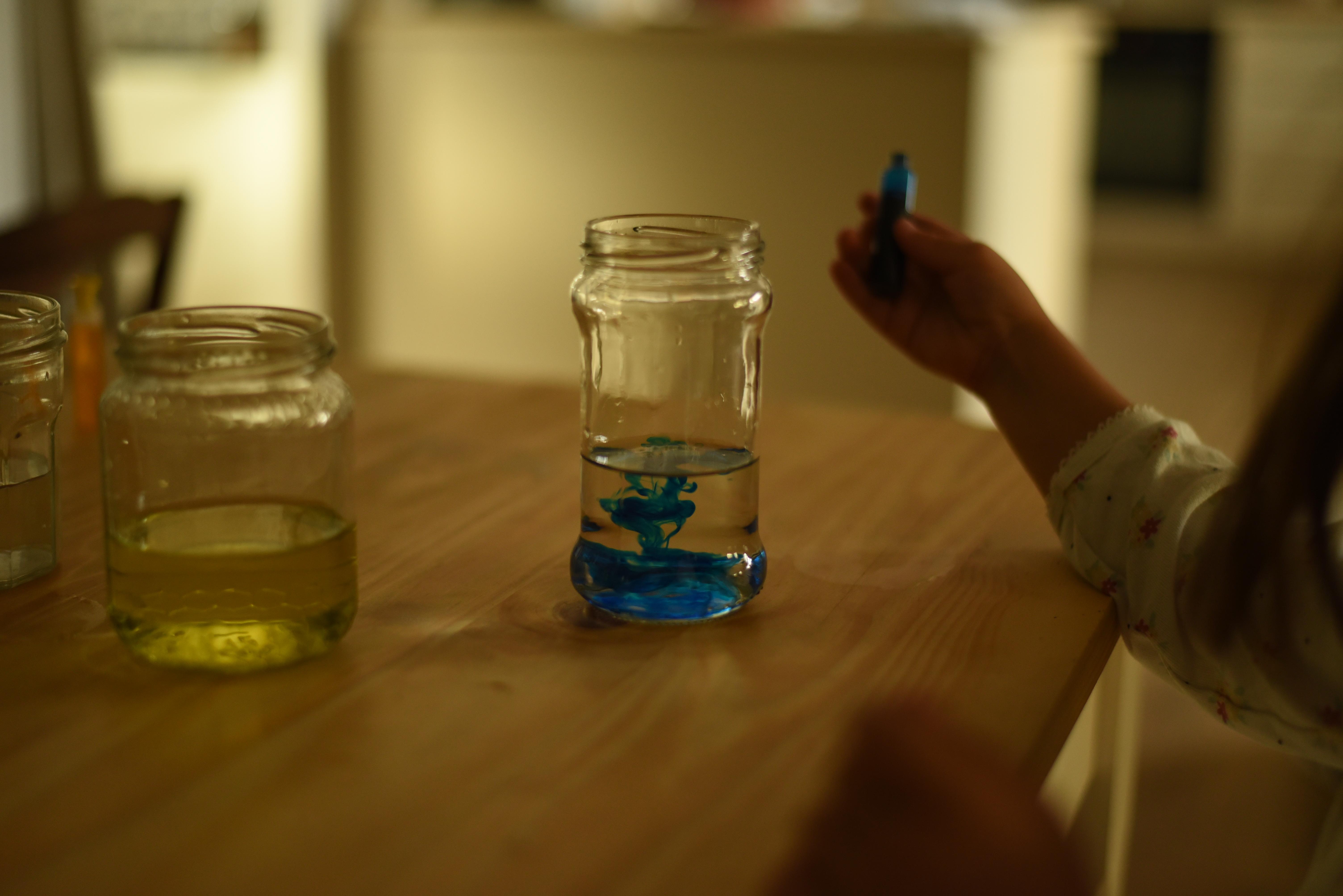 eau colorée